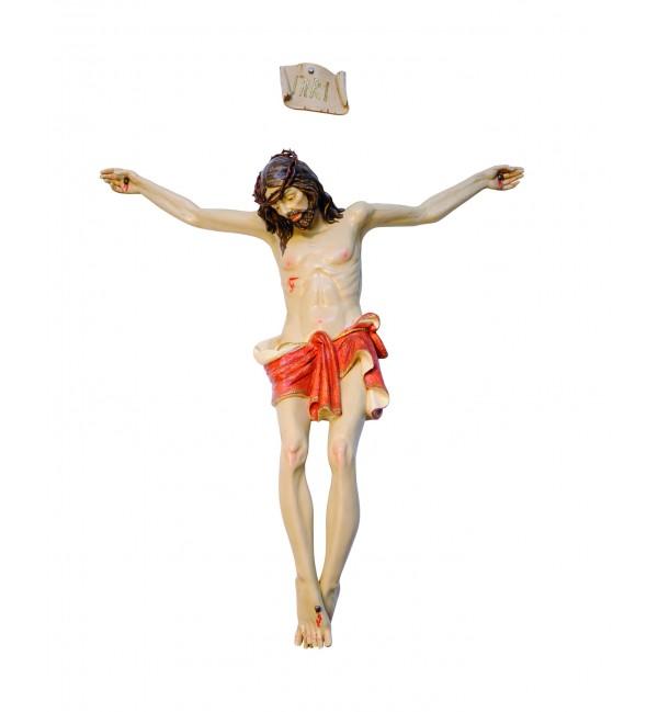 Corpo di Cristo in resina n.18 cm.180