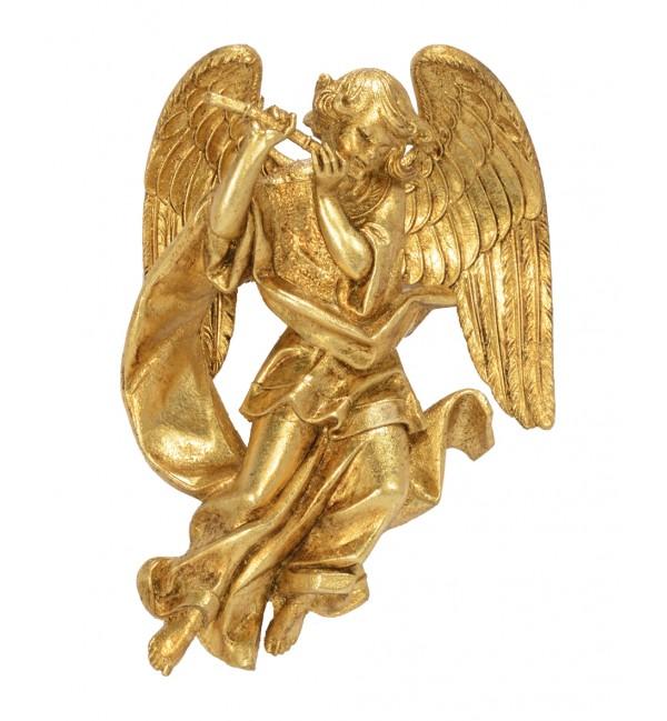 Angelo con flauto (467) oro foglia cm.17