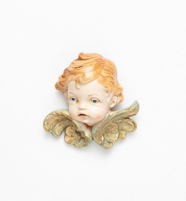 Testa angelo (68) tipo porcellana cm.11