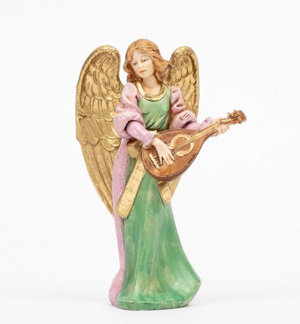 Angelo con mandolino (267) tipo porcellana cm.15