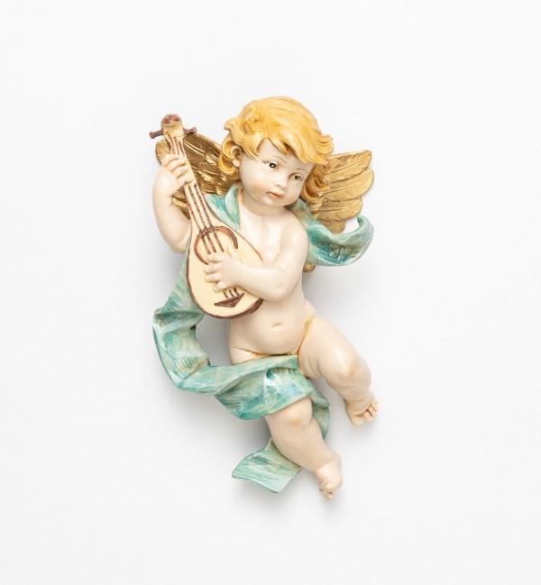 Angelo con mandolino (365) tipo porcellana cm.22