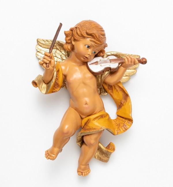 Angelo con violino (466) cm.27
