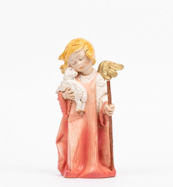 Angelo con pecora (562) tipo porcellana cm.20,5