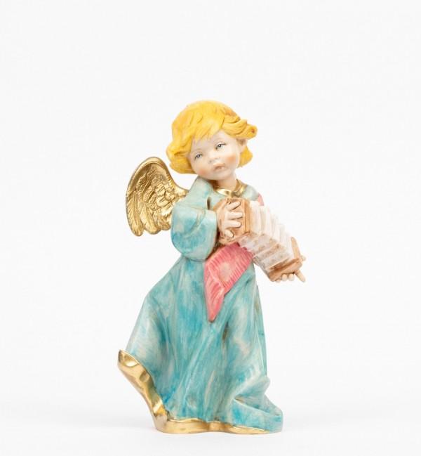 Angelo con fisarmonica (564) tipo porcellana cm.20,5