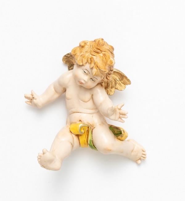 Angelo rotolante (578) tipo porcellana cm.10
