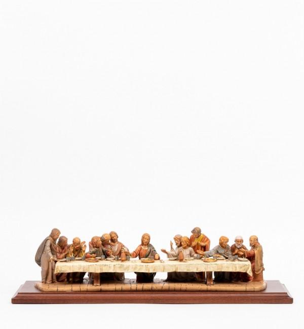 Ultima cena (580) cm.12 con base legno