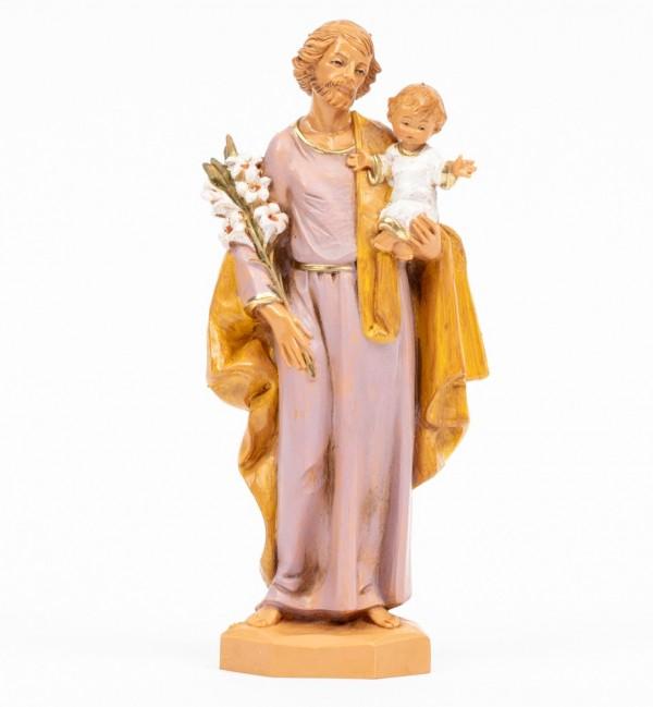 San Giuseppe con bambino (657) cm.17