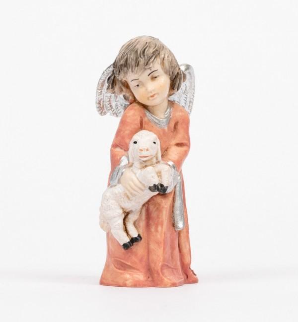 Angelo con pecora (682) tipo porcellana cm.7,5