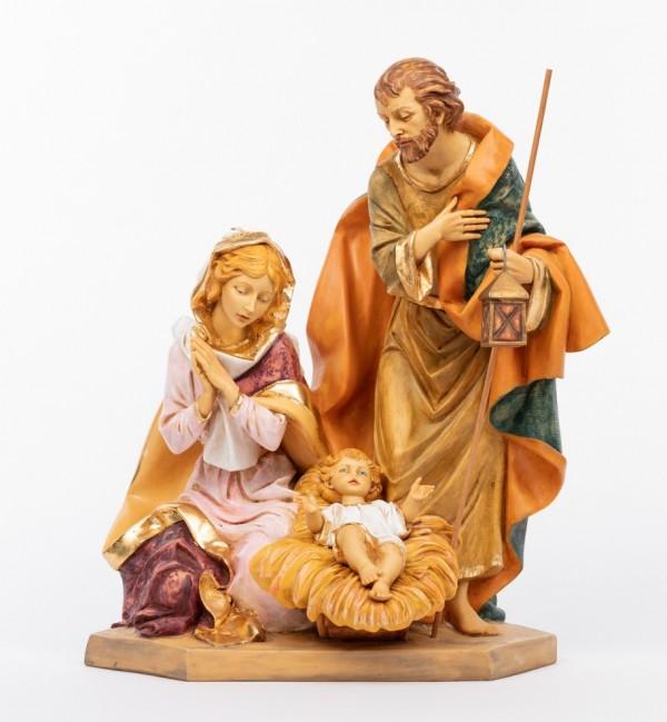 Sacra famiglia in resina (693) cm.65