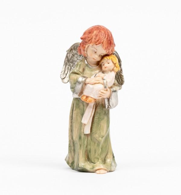 Angelo con bambino (835) tipo porcellana cm.15