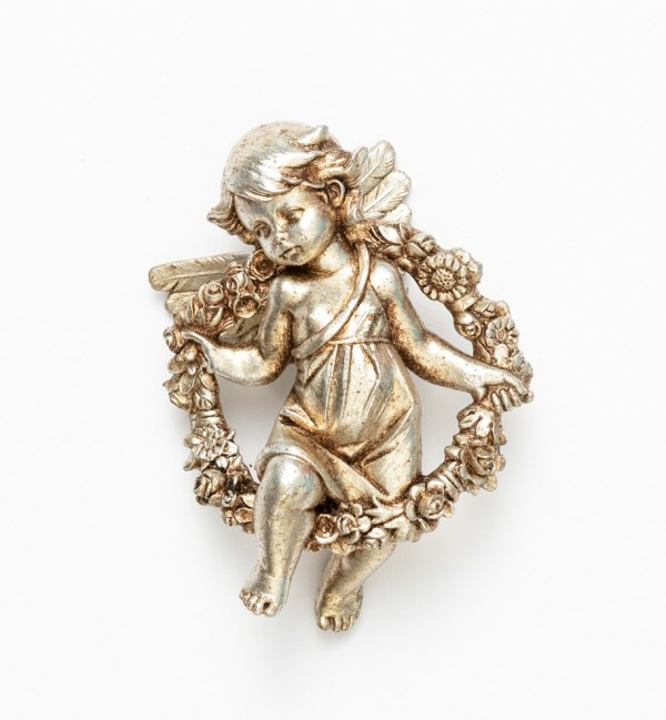 Angelo primavera (855) argento foglia cm.12