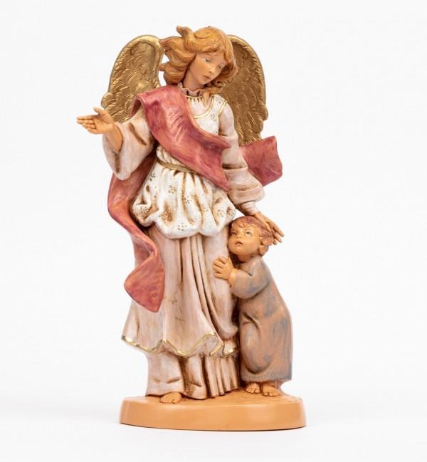 Angelo custode con bambino (880C) cm.31