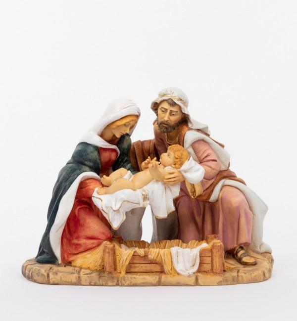 Sacra famiglia in resina (893) cm.36