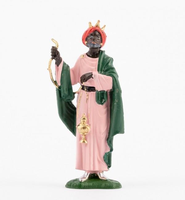 Re moro (6) per presepe colori tradizionali cm.10