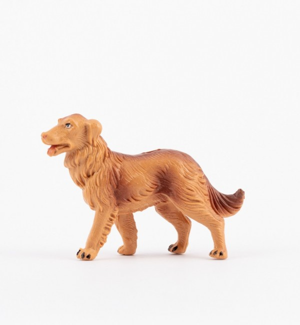 Cane per presepe colori tradizionali cm.10