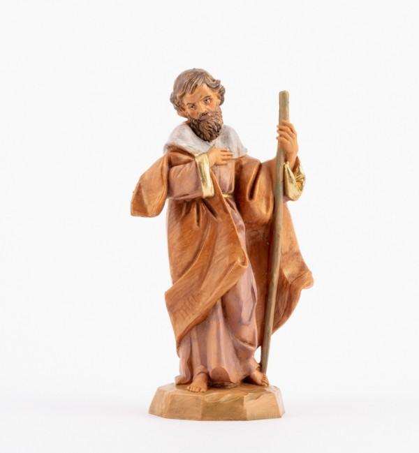 San Giuseppe per presepe cm.12