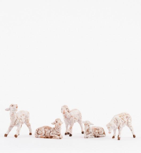 Pecore per presepe cm.12