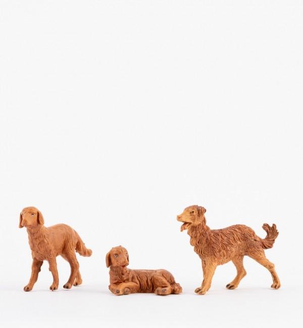 Cani per presepe cm.12