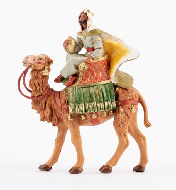 Re a cammello per presepe cm.12