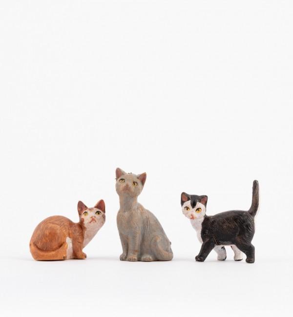 Gatti per presepe cm.19