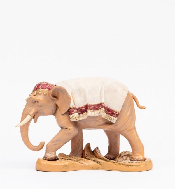 Elefante per presepe cm.19