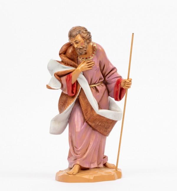 San Giuseppe per presepe cm.30