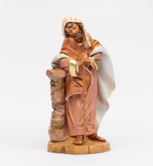 San Giuseppe per presepe cm.45