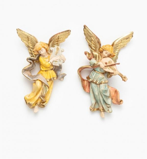 Angeli (888-9) tipo porcellana cm.8