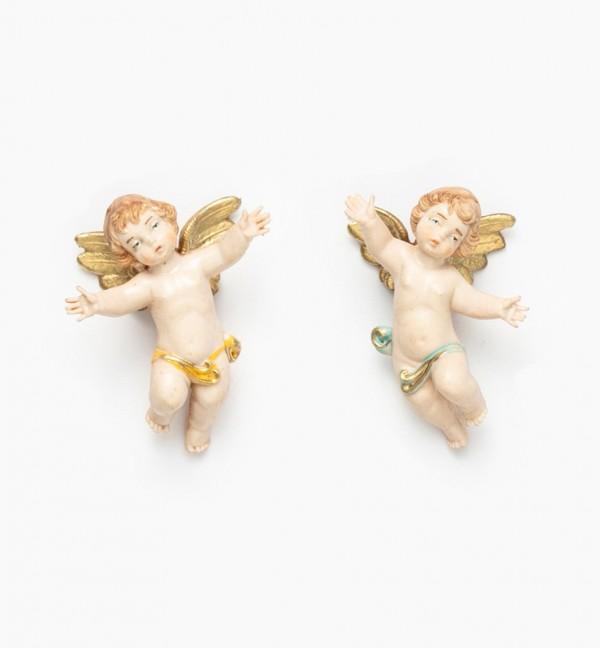 Angeli volanti (1-2) tipo porcellana cm.6