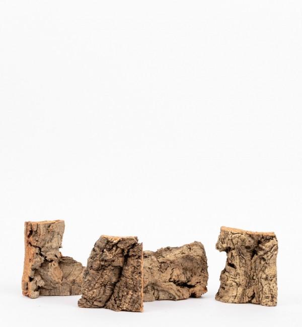 Sacchetto con sughero in pezzi n.1217 (160 gr.)