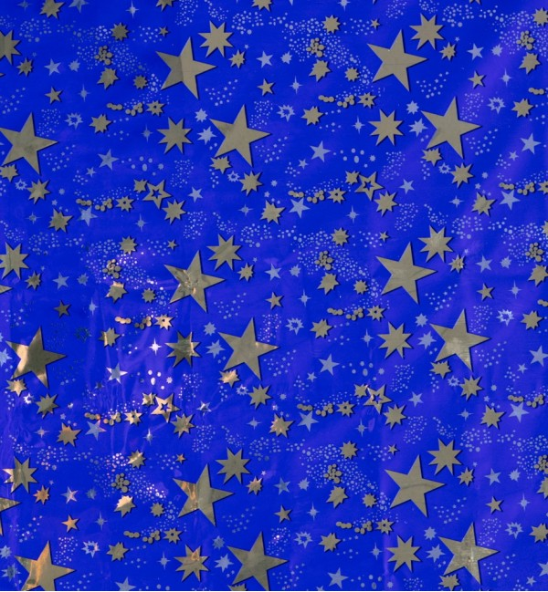 Rotolo cielo stellato oro cm.100x70