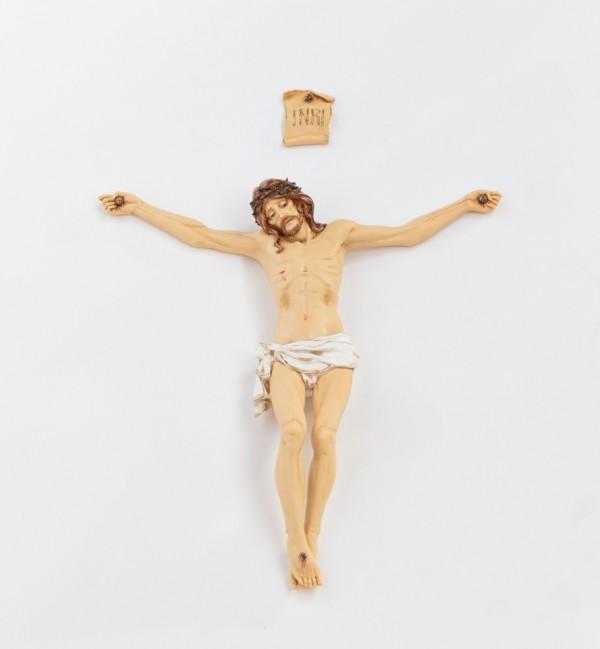 Corpo Di Cristo in resina n.10 cm.50