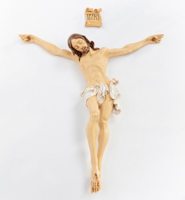 Corpo di Cristo in resina n.12 cm.95