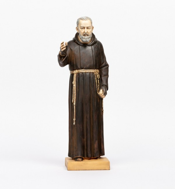 Padre Pio in resina cm.50