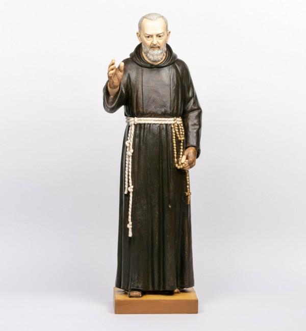Padre Pio in resina cm.100