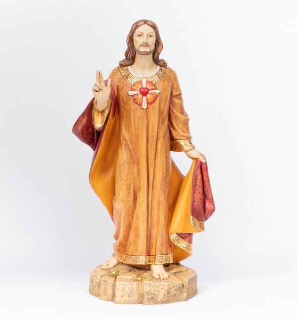 Sacro Cuore in resina cm.109