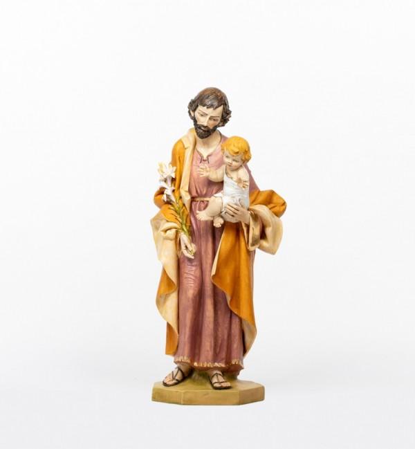 San Giuseppe con Bambino in resina cm.104