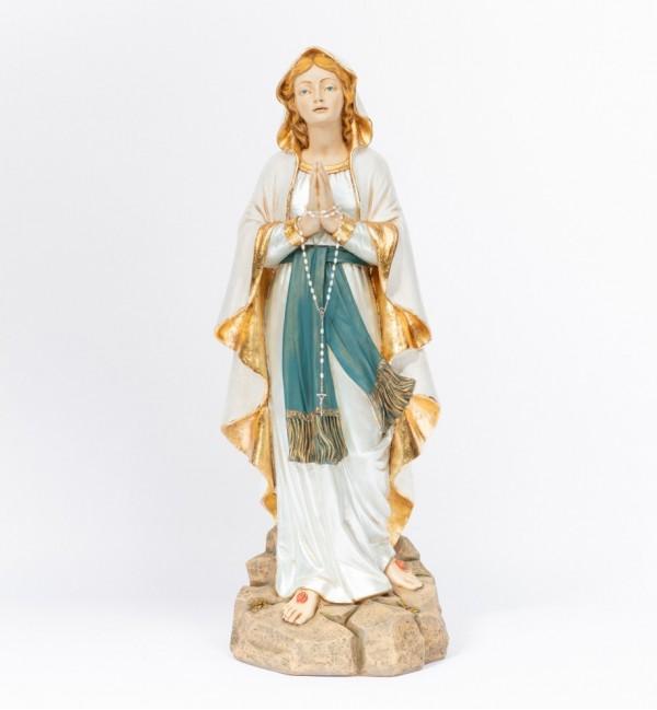 Madonna di Lourdes in resina cm.110
