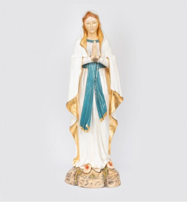 Madonna di Lourdes in resina cm.174
